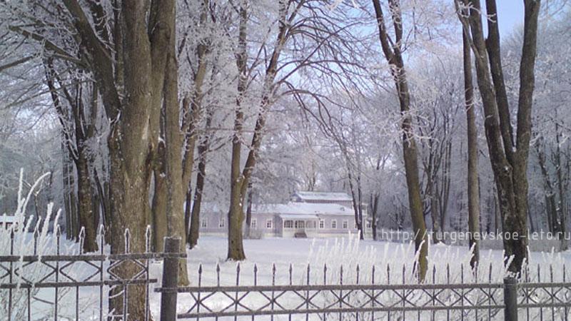 """""""Спасское-Лутавиново"""" имение матери И.С.Тургенева. Новый год 2008-09 год."""
