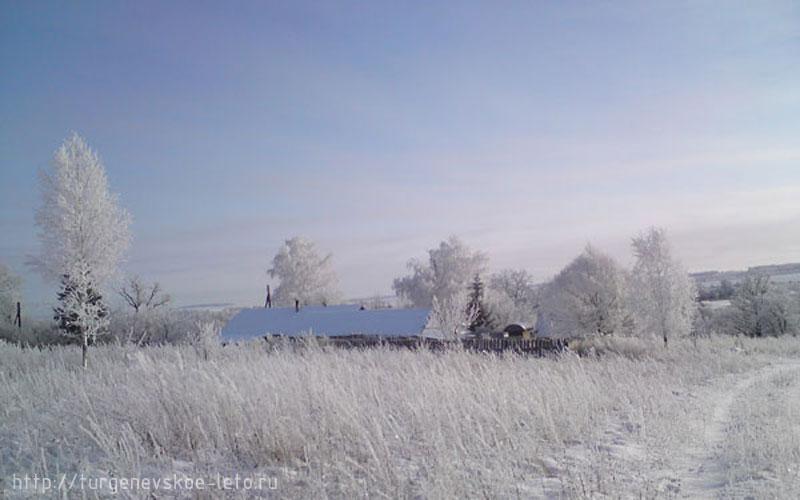 Домик в деревне Бежин луг