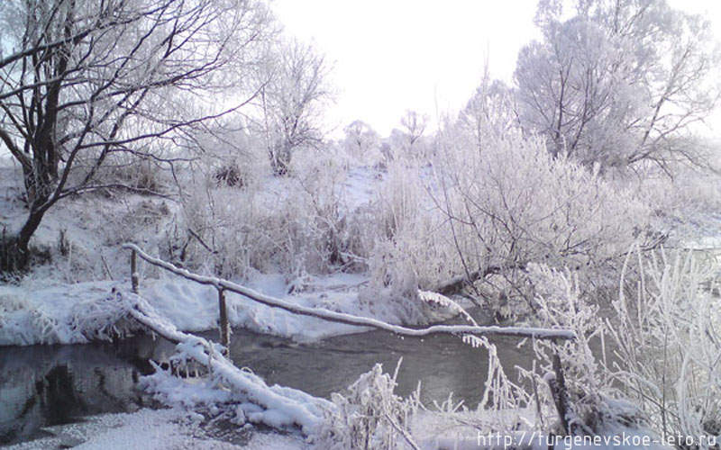 Мосток через Снежедь