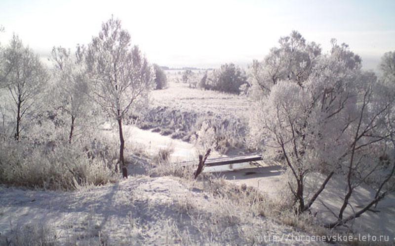 Бежин луг, река Снежедь (Чернский район, Тульской области)