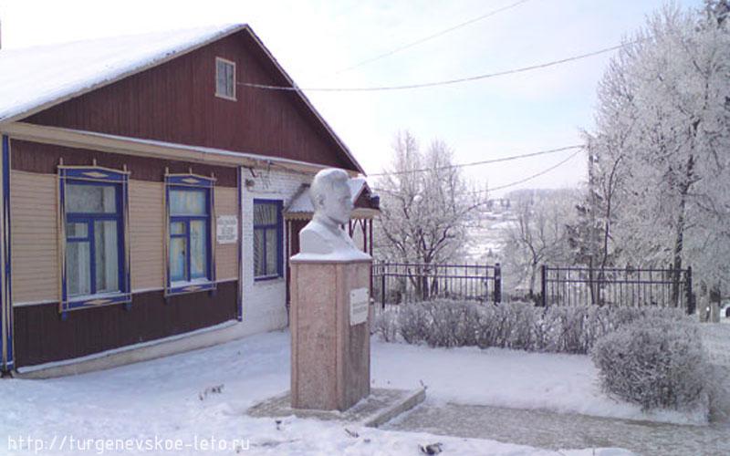 Краеведческий музей.  пос. Чернь. Новый год 2008-09 год.