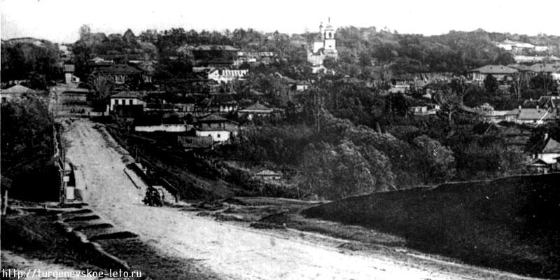 Город Чернь фотография 1910 года.