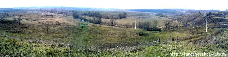 бежин луг (осенняя панорама)