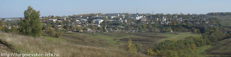 посёлок Чернь