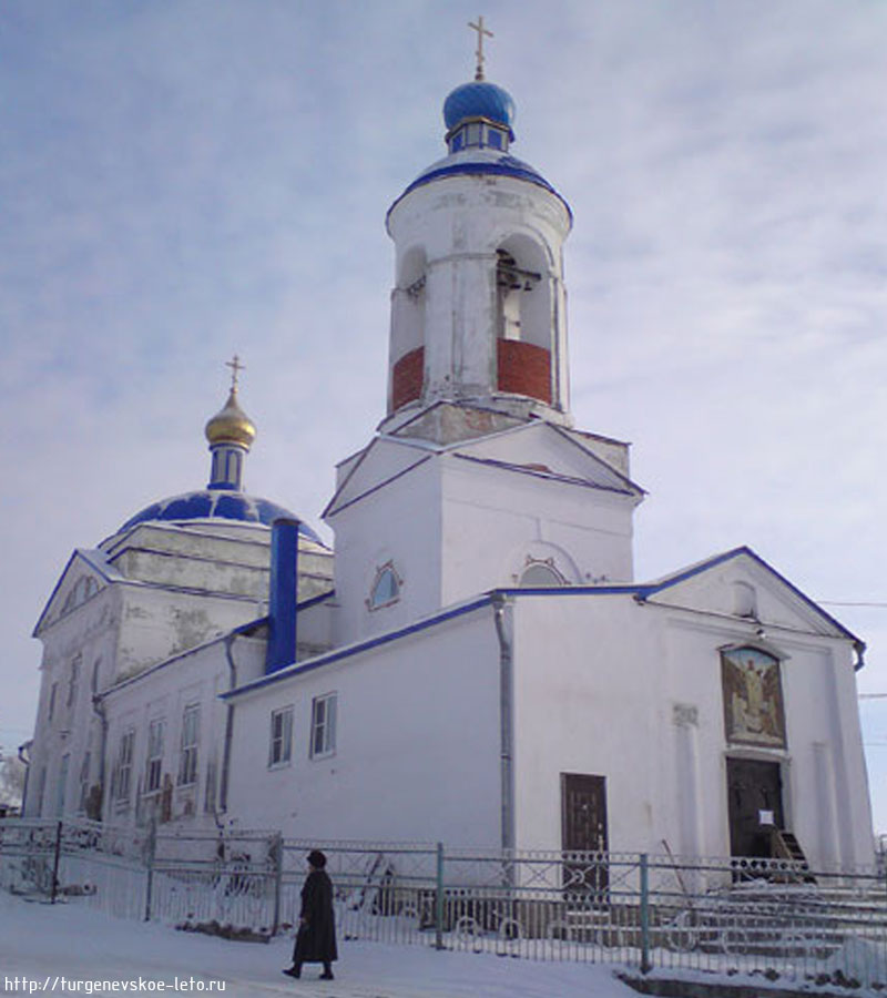 храм в Черни
