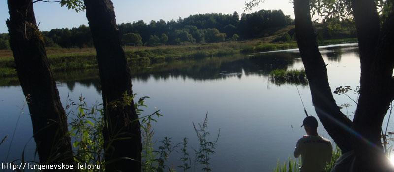 рыбалка на тургеневском пруду