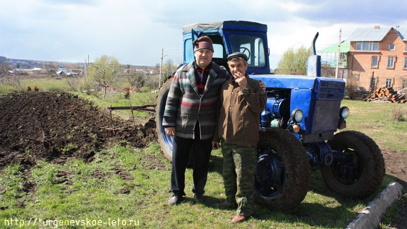 Виктор Данилович Волков и Тачёнов Виктор Ефимович вновь бросают вызов природе :)